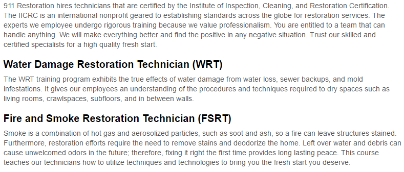 911 Restoration of Portland Certificates