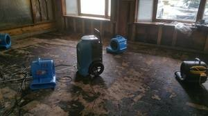 Water Damage Beavercreek Restoration In Progress