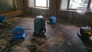 Water Damage Beavercreek Restoration In Progress