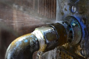 Old Leaky Pipes-water damage restoration