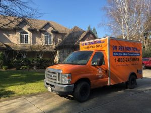 Water Damage in Portland